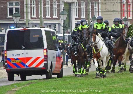 Freedom-210620-The-Hague-police-horses