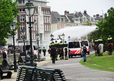 Freedom-210620-The-Hague-police-watercannon