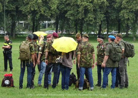 Freedom-210704-The-Hague-ex-militair