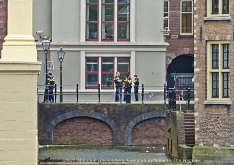 Freedom-210704-The-Hague-police-all-over