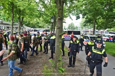 Freedom-210704-The-Hague-police-army