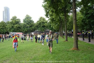Freedom-210704-The-Hague-police-Wijnand