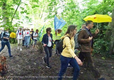 Freedom-210704-The-Hague-walk-park