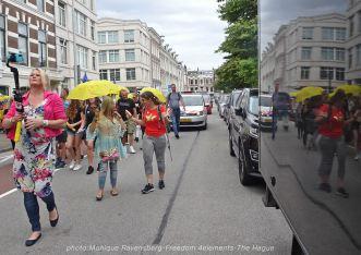 Freedom-210704-The-Hague-walk-reflection