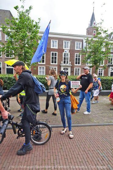 Freedom-210704-The-Hague-walk-San