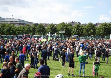 Freedom-Farmers-defend-The-Hague-crowd
