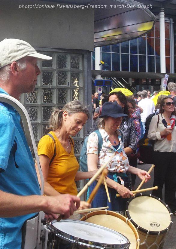 Freedom-210814-Den-Bosch-drumbeat