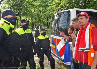 Freedom-210921-The-Hague-police-army-5